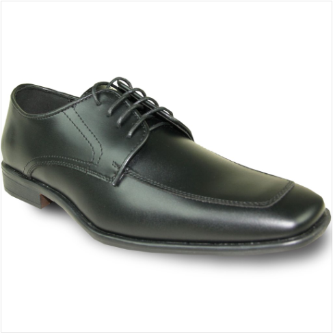 Black Matte Leather Shoe
