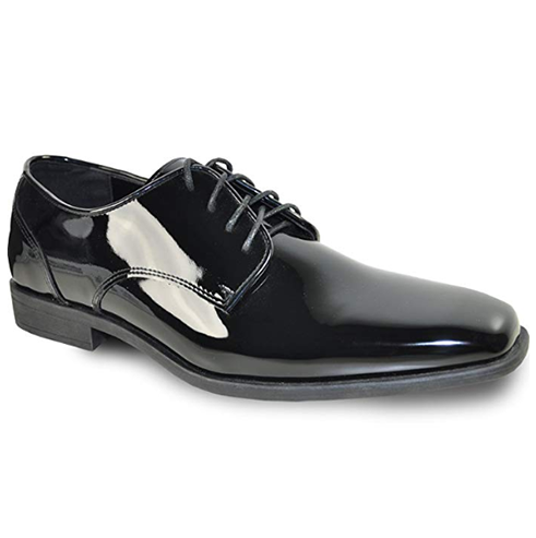 Black Patent Leather Shoe Side