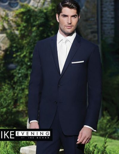 Ike Behar Navy Collin Suit