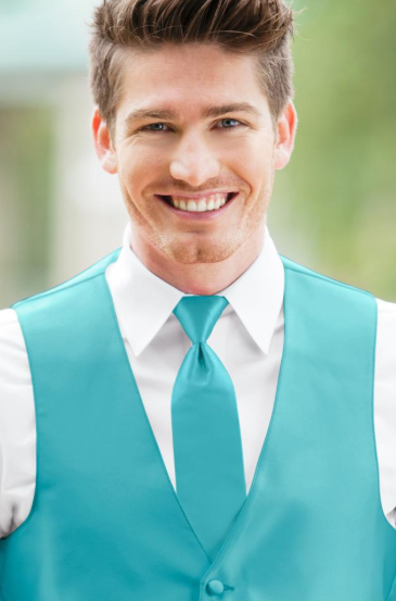 Turquoise Long Tie