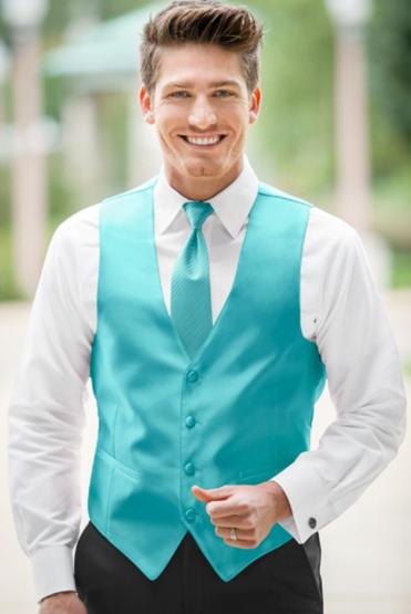 Turquoise Vest
