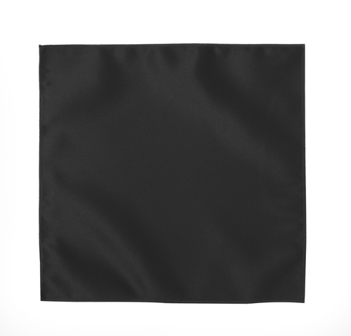 Tuxedo Park Black Pocket Square