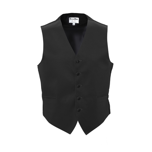 Tuxedo Park Black Vest