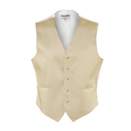Tuxedo Park Champagne Vest