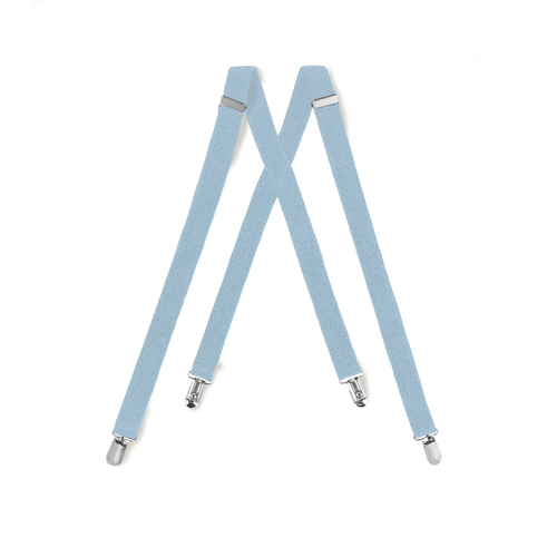 Tuxedo Park Light Blue Suspenders