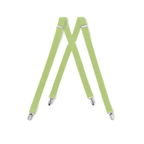 Tuxedo Park Lime Suspenders