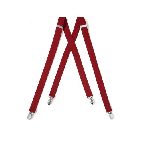 Tuxedo Park Red Suspenders