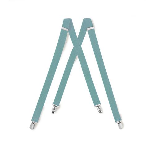 Tuxedo Park Tiffany Blue Suspenders