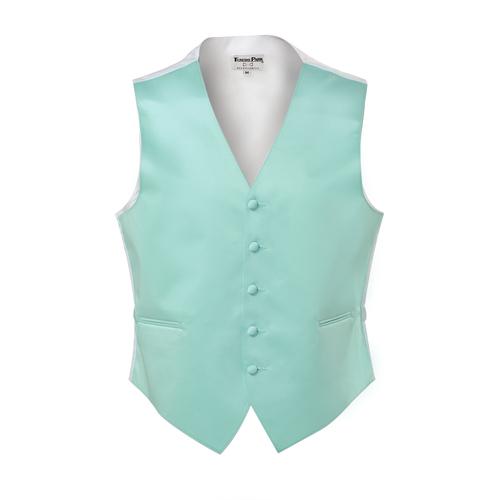 Tuxedo Park Tiffany Blue Vest