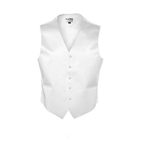 Tuxedo Park White Vest