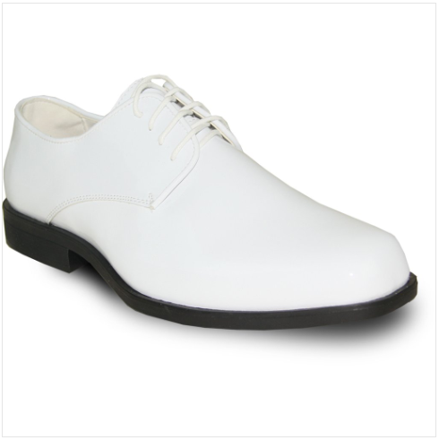 White Patent Leather Shoe