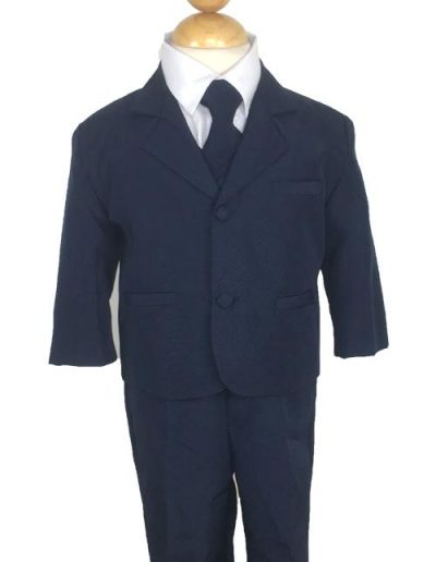 Peanut Butter Navy Suit