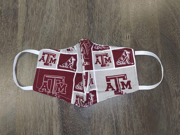 AM Mascot Adult Face Masks found at Rex Formal Wear, San Antonio, Texas