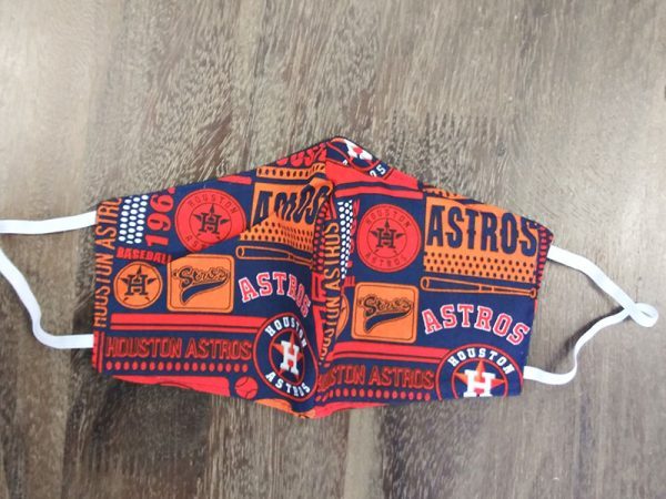 Houston Astros - Adult Face Masks found at Rex Formal Wear, San Antonio, Texas