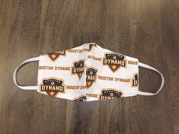 MLS Dynamos Adult Face Masks found at Rex Formal Wear, San Antonio, Texas