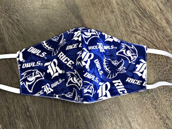 Rice University Owls - Adult Face Masks found at Rex Formal Wear, San Antonio, Texas