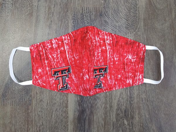 Texas Tech Adult Face Masks found at Rex Formal Wear, San Antonio, Texas