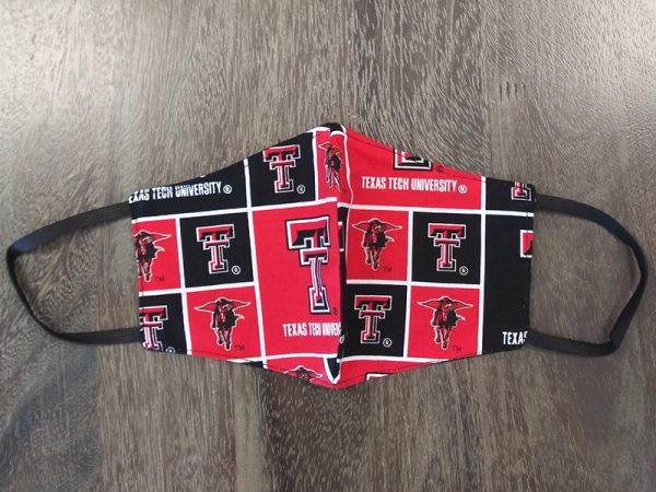 Texas Tech Red Raiders - Adult Face Masks found at Rex Formal Wear, San Antonio, Texas