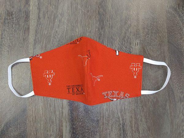 UT Austin Adult Face Masks found at Rex Formal Wear, San Antonio, Texas