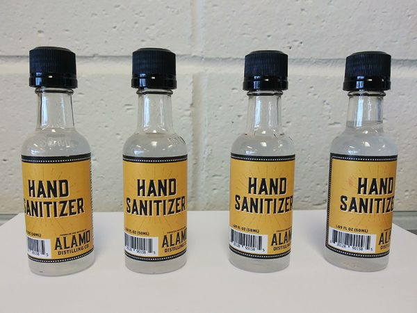 Hand Sanitizers in Stock and Available at at Rex Formal Wear, San Antonio, Texas