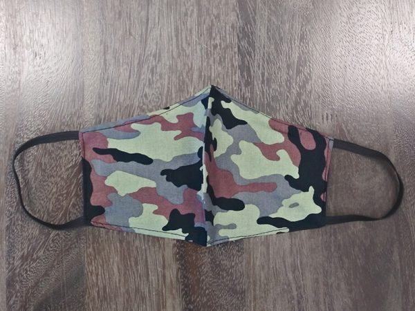 Camo Adult Face Masks found at Rex Formal Wear, San Antonio, Texas
