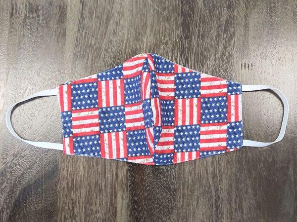 Flag - 4th of July Masks - Adult Face Masks found at Rex Formal Wear, San Antonio, Texas
