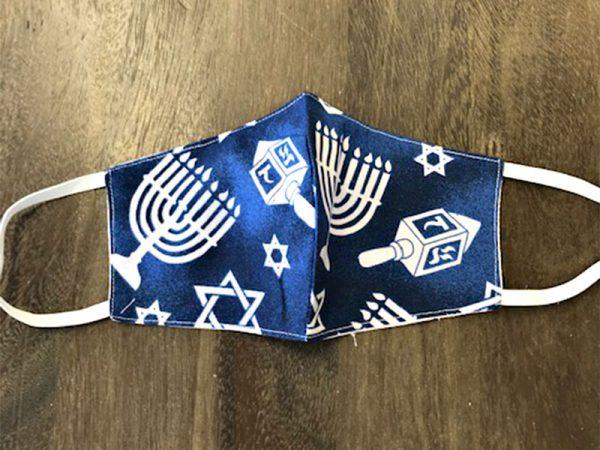 Hanukkah Masks - Adult Face Masks found at Rex Formal Wear, San Antonio, Texas