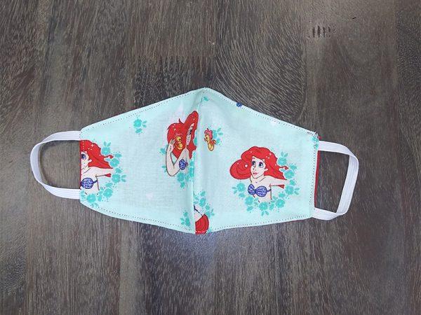 Little Mermaid Children's Face Masks found at Rex Formal Wear, San Antonio, Texas