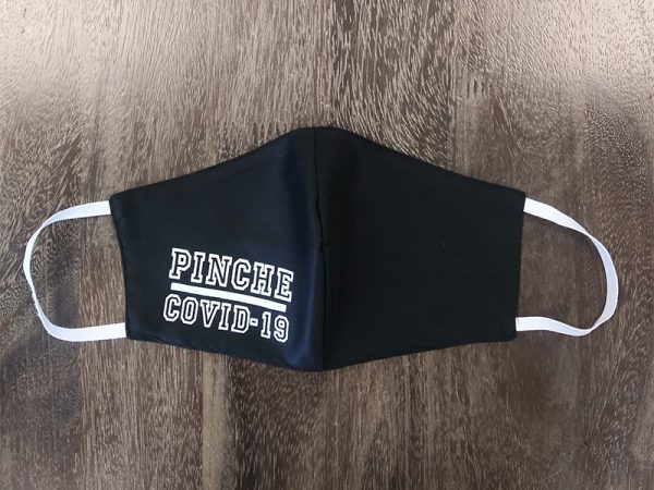 Pinche Covid-19 Adult Face Masks found at Rex Formal Wear, San Antonio, Texas