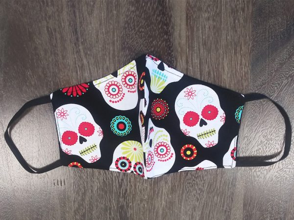 Sugar Skulls Adult Face Masks found at Rex Formal Wear, San Antonio, Texas