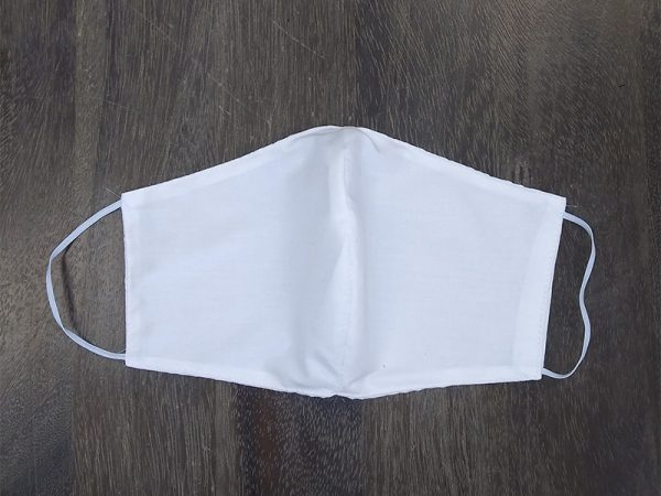 Solid White Adult Face Masks found at Rex Formal Wear, San Antonio, Texas