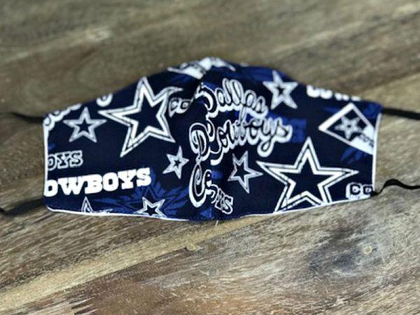 Dallas Cowboys - Adult Face Masks found at Rex Formal Wear, San Antonio, Texas